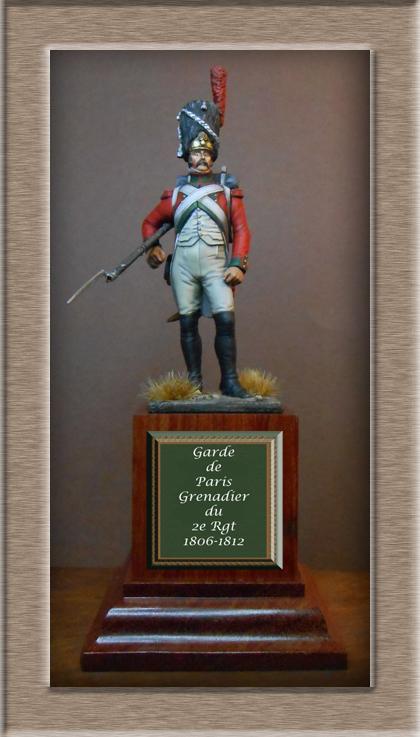 Vitrine Alain 2 mise en peinture sculpture Grenadier en surtout  1807  MM54mm - Page 6 Dscn0910