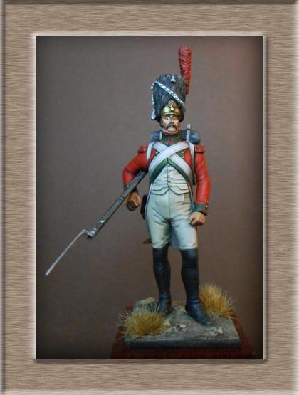Vitrine Alain 2 mise en peinture sculpture Grenadier en surtout  1807  MM54mm - Page 6 Dscn0911