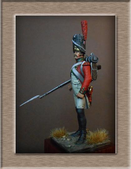 Vitrine Alain 2 mise en peinture sculpture Grenadier en surtout  1807  MM54mm - Page 6 Dscn0913