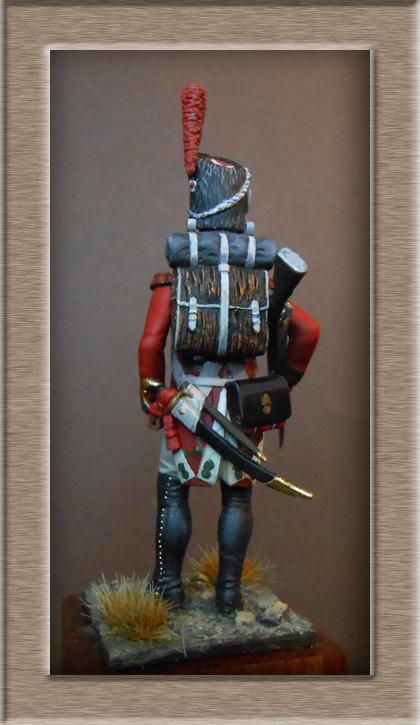 Vitrine Alain 2 mise en peinture sculpture Grenadier en surtout  1807  MM54mm - Page 6 Dscn0914