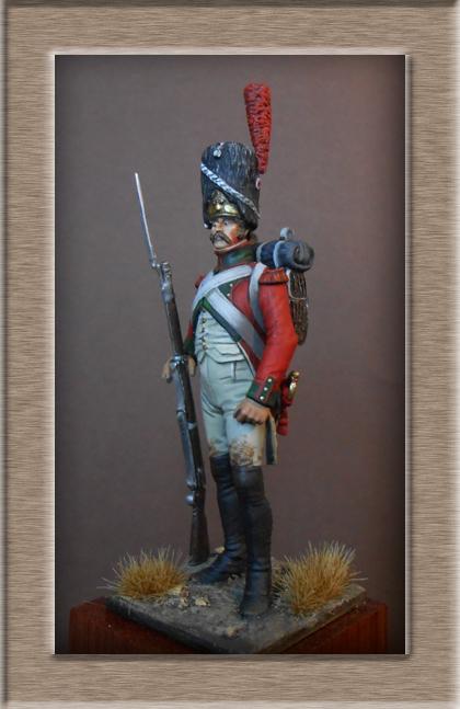 Vitrine Alain 2 Légion Portugaise .Grenadier1808-1814 Chronos Miniatures résine   54mm résin 54 mm ) - Page 7 Dscn0917