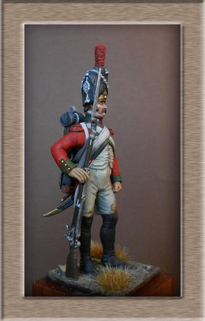 Vitrine Alain 2 Légion Portugaise .Grenadier1808-1814 Chronos Miniatures résine   54mm résin 54 mm ) - Page 7 Dscn0918