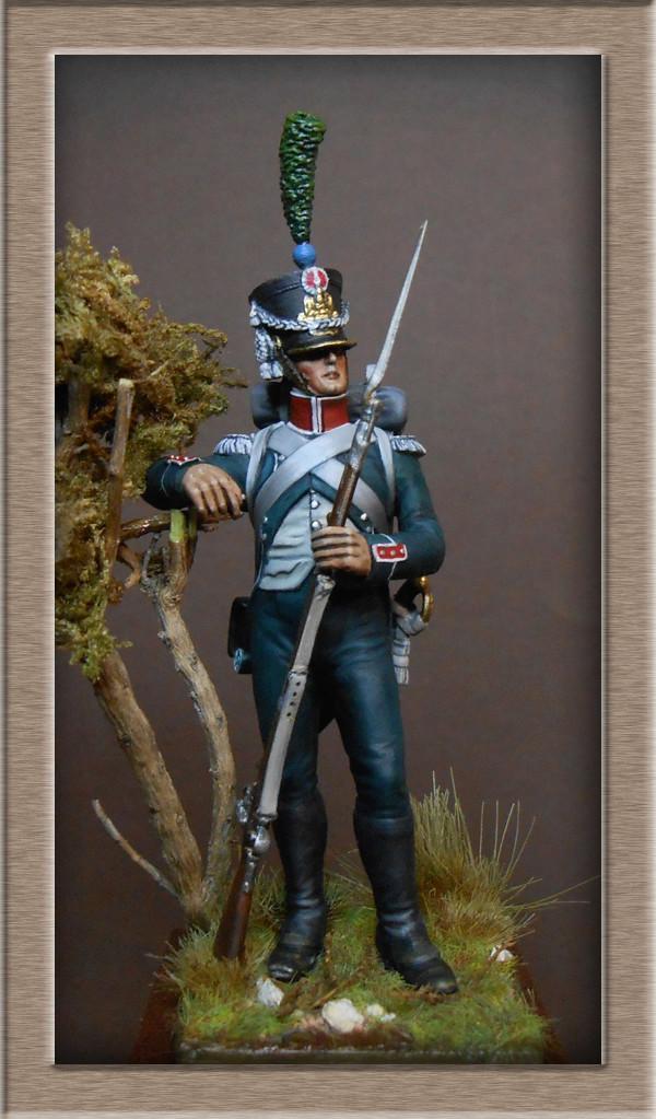 Vitrine Alain 2 Voltigeur de la ligne retour d'Espagne 1814 MM54mm - Page 8 Dscn1611