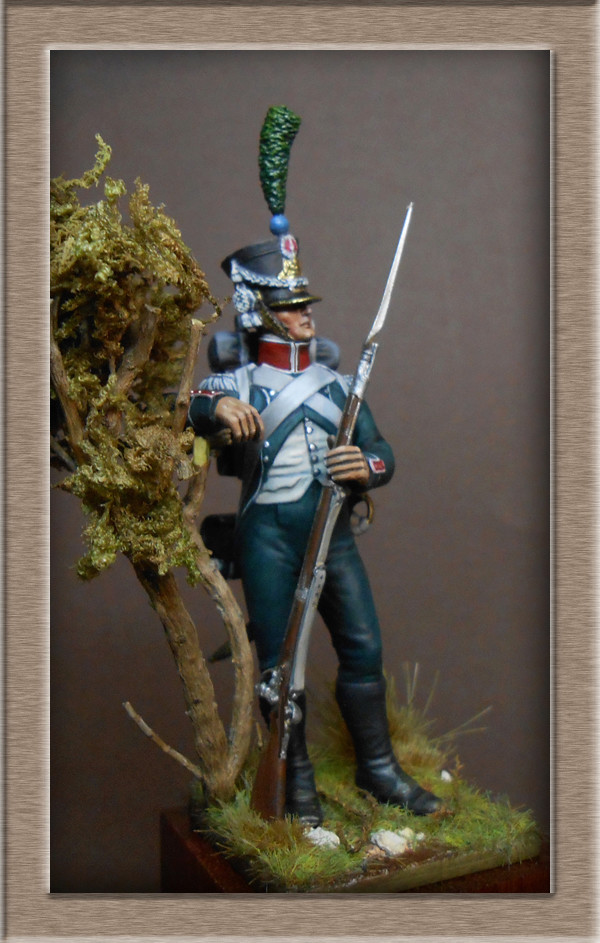 Vitrine Alain 2 Légion Irlandaise Carabinier 1808 SOGA Miniatures 54 mm ) - Page 8 Dscn1612