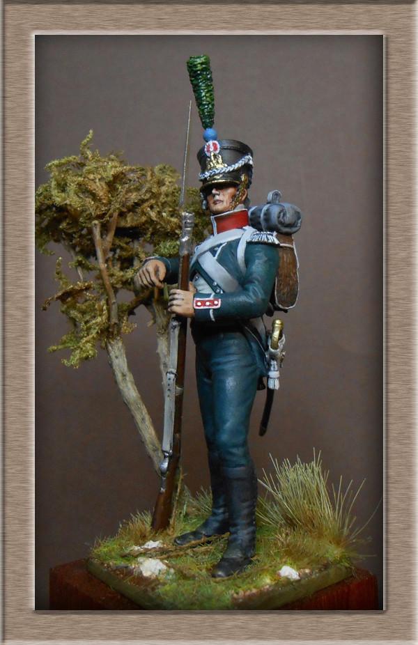 Vitrine Alain 2 Légion Irlandaise Carabinier 1808 SOGA Miniatures 54 mm ) - Page 8 Dscn1613