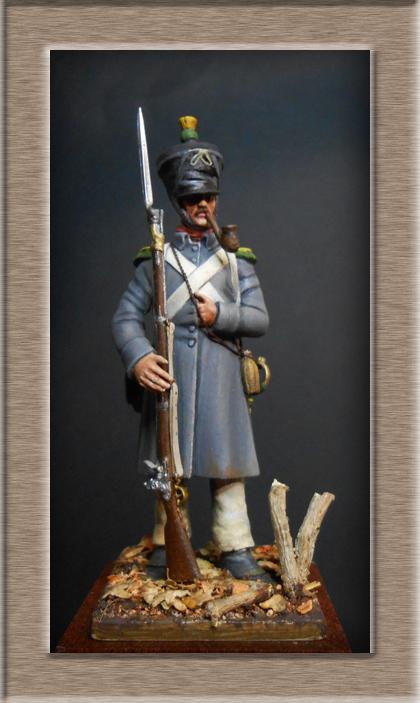 Vitrine Alain 2 mise en peinture sculpture Grenadier en surtout  1807  MM54mm - Page 5 Dscn8211