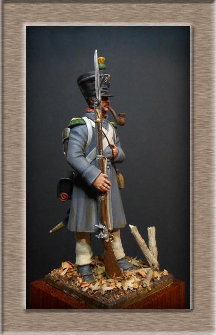 Vitrine Alain 2 mise en peinture sculpture Grenadier en surtout  1807  MM54mm - Page 5 Dscn8212