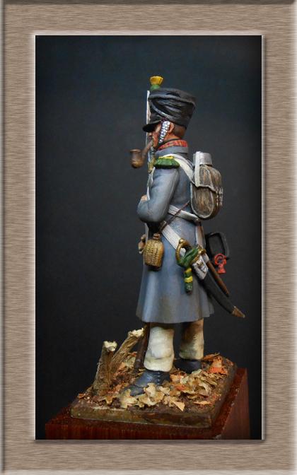 Vitrine Alain 2 mise en peinture sculpture Grenadier en surtout  1807  MM54mm - Page 5 Dscn8214