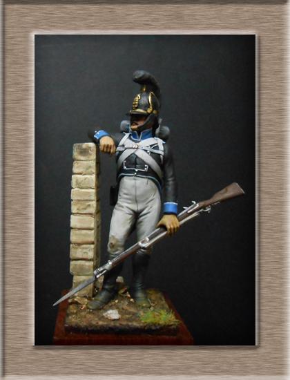 Vitrine Alain 2 mise en peinture sculpture Grenadier en surtout  1807  MM54mm - Page 5 Dscn8311