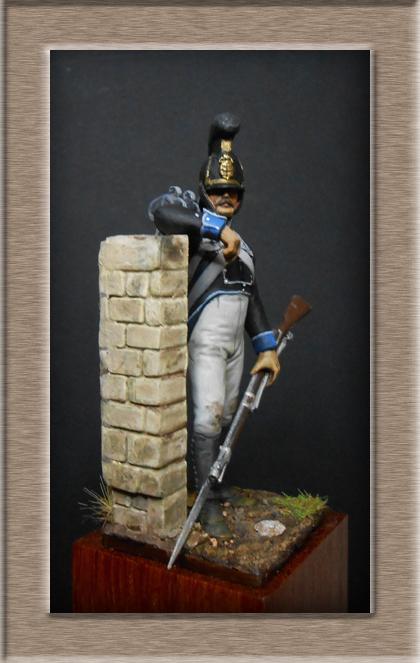 Vitrine Alain 2 mise en peinture sculpture Grenadier en surtout  1807  MM54mm - Page 5 Dscn8312