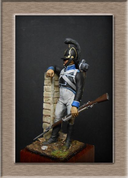 Vitrine Alain 2 mise en peinture sculpture Grenadier en surtout  1807  MM54mm - Page 5 Dscn8313
