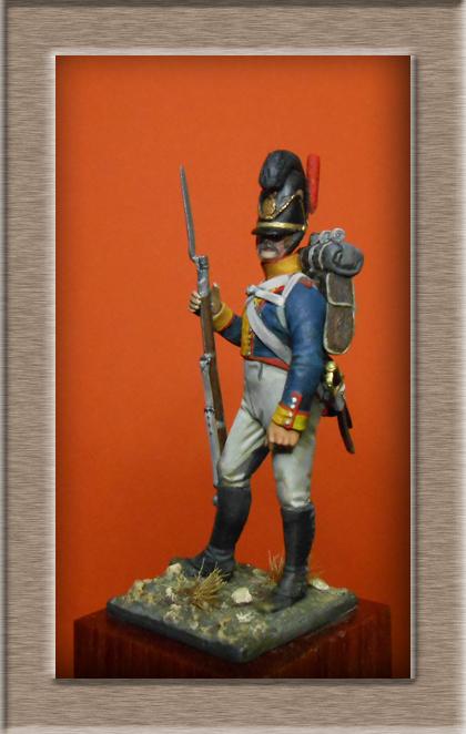 Vitrine Alain 2 mise en peinture sculpture Grenadier en surtout  1807  MM54mm - Page 5 Dscn8513