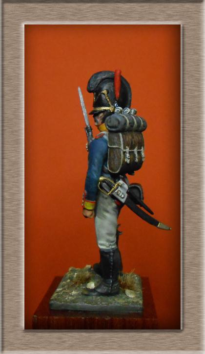 Vitrine Alain 2 mise en peinture sculpture Grenadier en surtout  1807  MM54mm - Page 5 Dscn8514