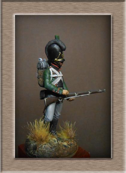 Vitrine Alain 2 mise en peinture sculpture Grenadier en surtout  1807  MM54mm - Page 5 Dscn8612