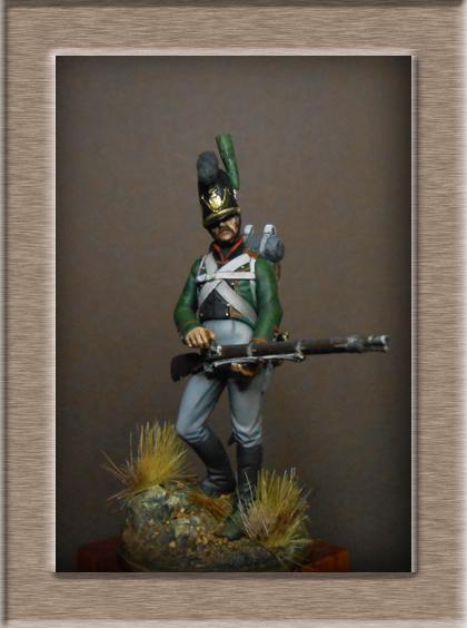 Vitrine Alain 2 mise en peinture sculpture Grenadier en surtout  1807  MM54mm - Page 5 Dscn8613