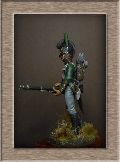 Vitrine Alain 2 mise en peinture sculpture Grenadier en surtout  1807  MM54mm - Page 5 Dscn8614