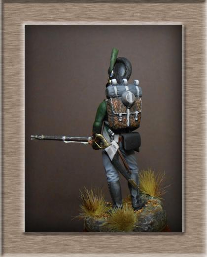 Vitrine Alain 2 mise en peinture sculpture Grenadier en surtout  1807  MM54mm - Page 5 Dscn8615