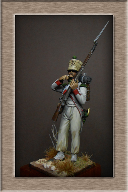 Vitrine Alain 2 mise en peinture sculpture Grenadier en surtout  1807  MM54mm - Page 5 Dscn8712