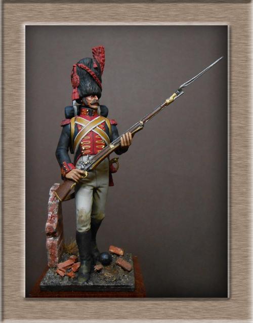 Vitrine Alain 2 mise en peinture sculpture Grenadier en surtout  1807  MM54mm - Page 6 Dscn8725