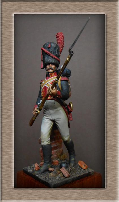 Vitrine Alain 2 mise en peinture sculpture Grenadier en surtout  1807  MM54mm - Page 6 Dscn8726