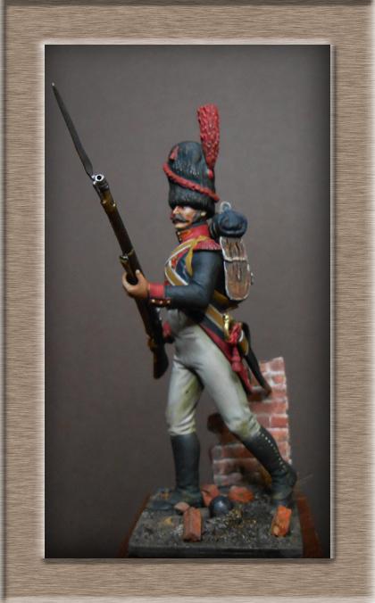 Vitrine Alain 2 mise en peinture sculpture Grenadier en surtout  1807  MM54mm - Page 6 Dscn8727