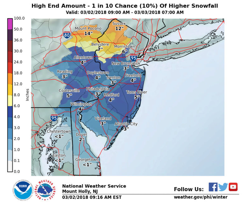 March 2nd Nor'easter Update - Page 38 Snowam10