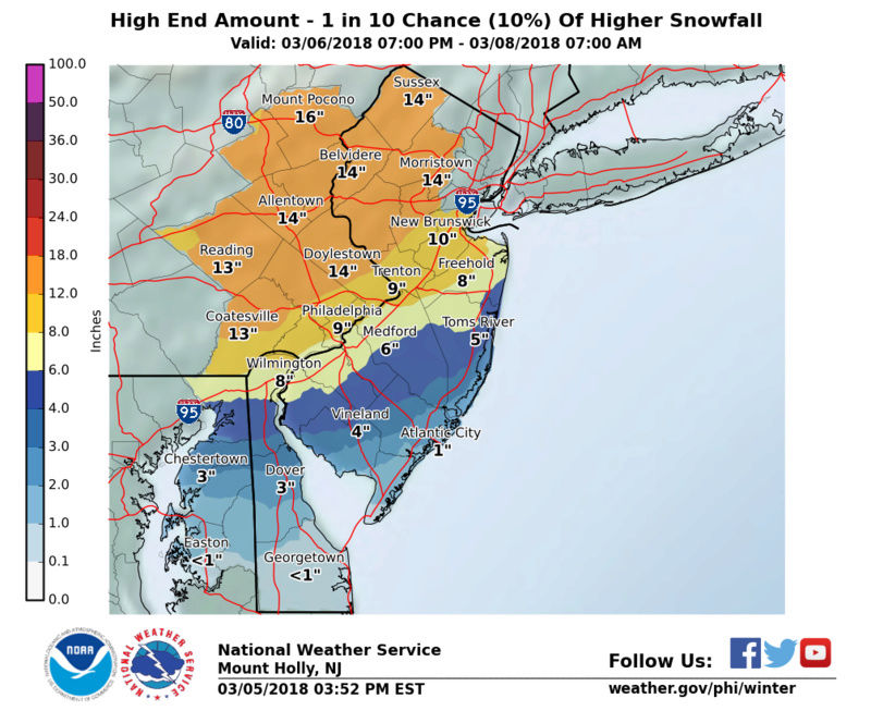 March 7th-8th 2018 Storm Potential - Page 17 Snowam13