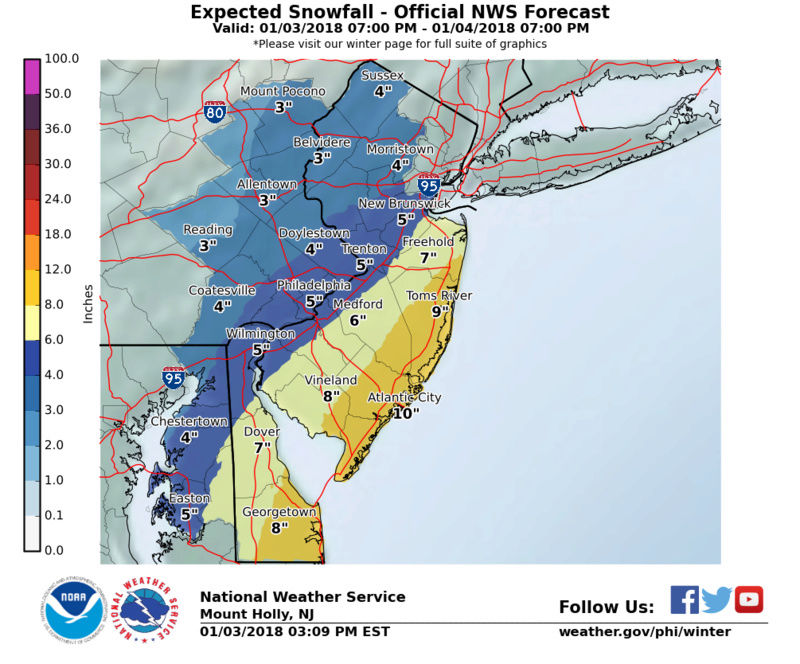 January 4th Snowstorm: 1st Call Snow Map - Page 16 Stormt12