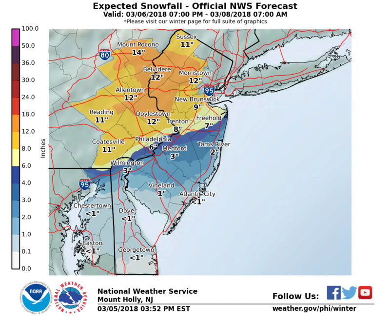 March 7th-8th 2018 Storm Potential - Page 17 Stormt23