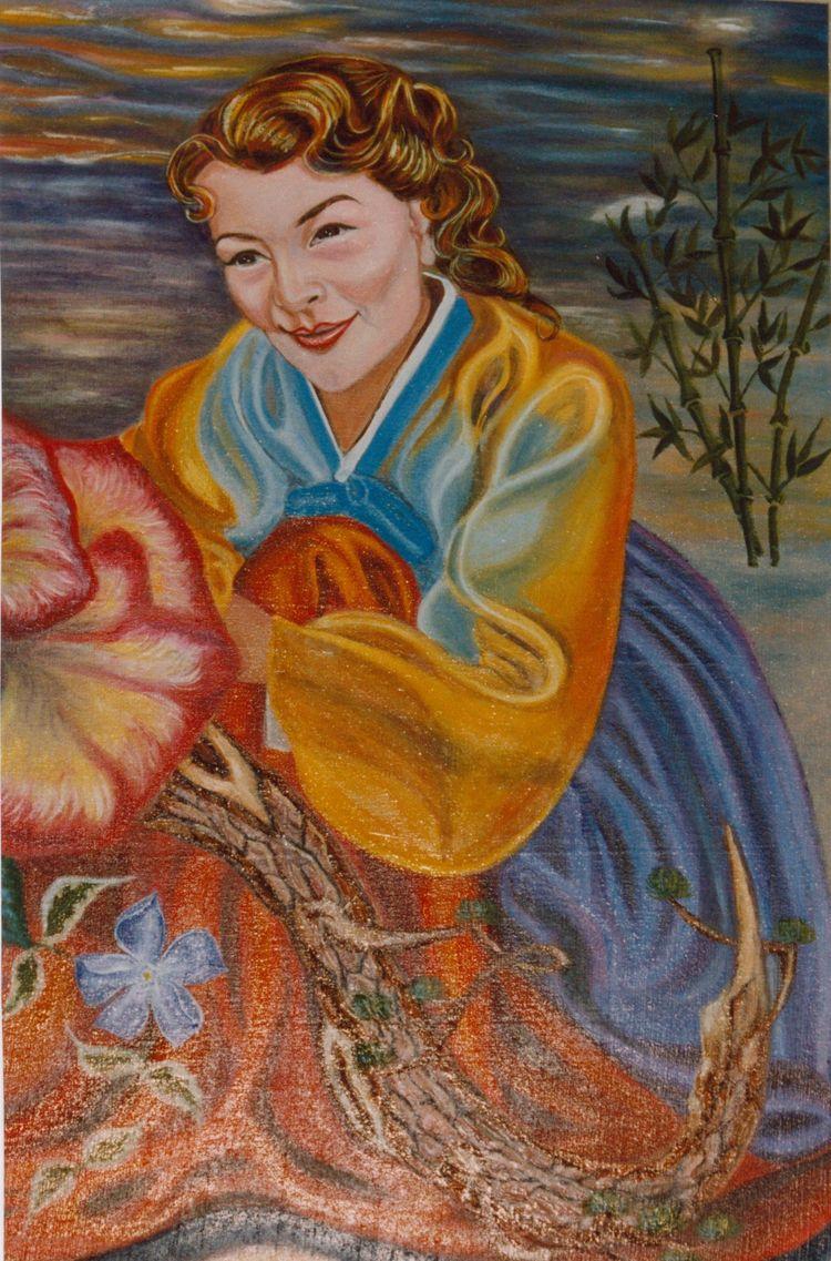 Autoportrait à l'Huile 1996  23271110