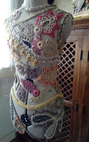 Osons nous vêtir de Poésie & soyons Créatives  Croche10
