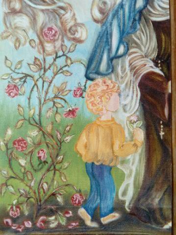 Etudes à thème St Thérèse de Lisieux  Img_2080