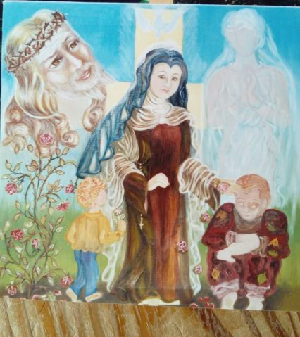 Etudes à thème St Thérèse de Lisieux  Img_2081
