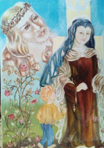 Etudes à thème St Thérèse de Lisieux  Img_2084
