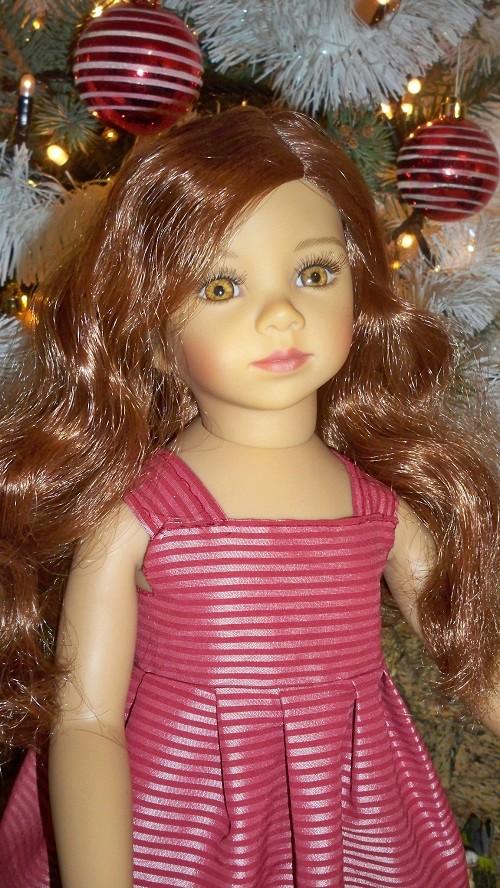 Cheveux longs ou macarons ,toujours belle 00216