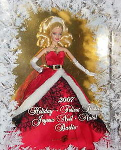Pourle plaisir 10 noëls  de Barbie 200710