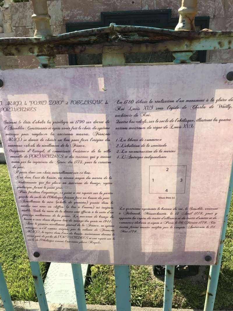 La place dédiée à Louis XVI à Port-Vendres  4606c110