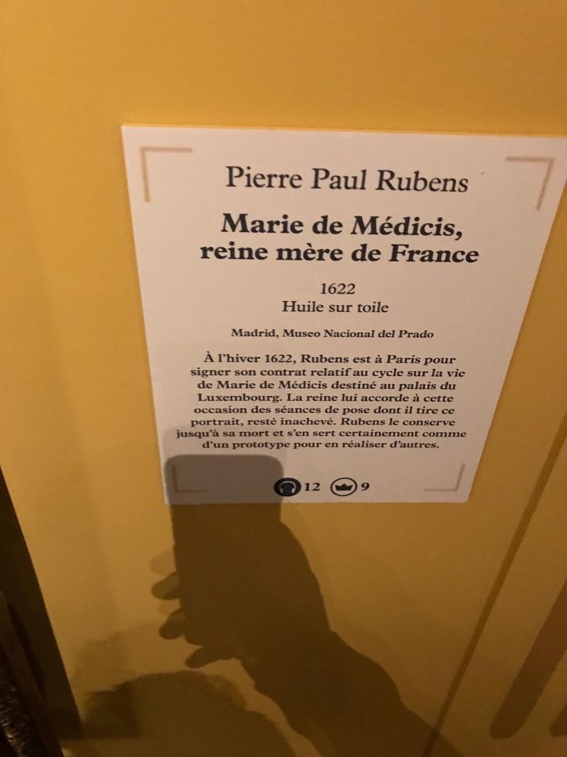 "Expo ""Rubens, portraits princiers""- Musée du Luxembourg 2017 Img_4310"