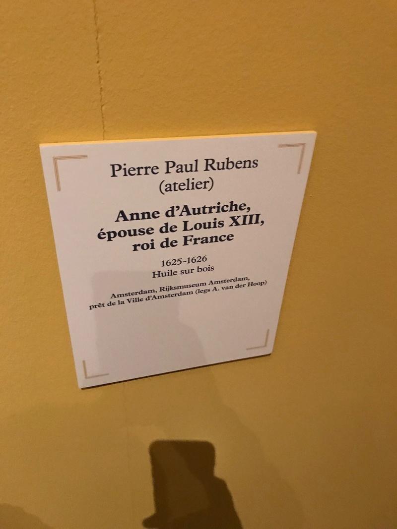 "Expo ""Rubens, portraits princiers""- Musée du Luxembourg 2017 Img_4316"
