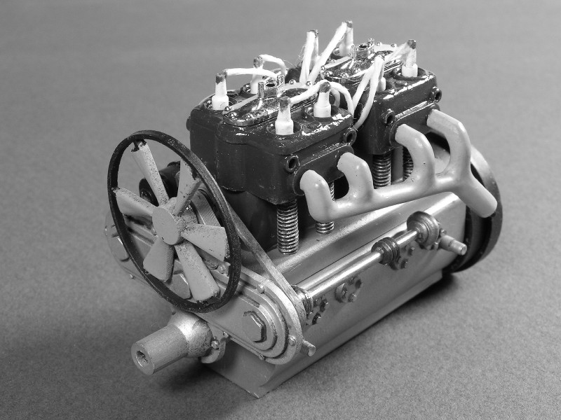 1912 Mercer 35 Raceabout - 1/16th Entex (Bandai) Mercer19