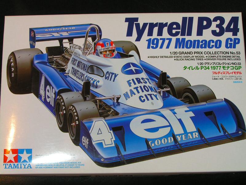 Community Build #24 - Pre 1990 Race Cars Tyrell11