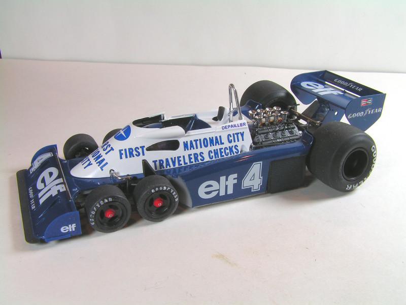 Community Build #24 - Pre 1990 Race Cars Tyrell29