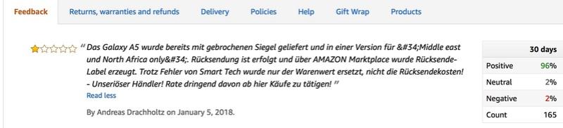 [Information] Amazon Prime 100% De Satisfait ou Pas lol Screen13