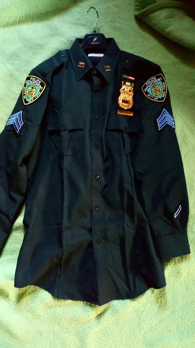 Chemisse sergent nypd  Dsc_0012