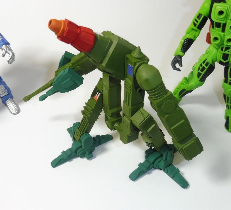Custom robot Centurions Kenner P1040510