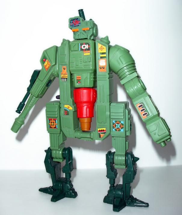 Custom robot Centurions Kenner Trauma10