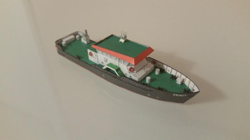 Peilschiff Zenit  HMV  1:250 gebaut von Paperfreak 20180110