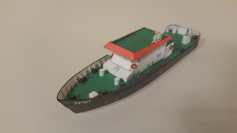 Peilschiff Zenit  HMV  1:250 gebaut von Paperfreak 20180112