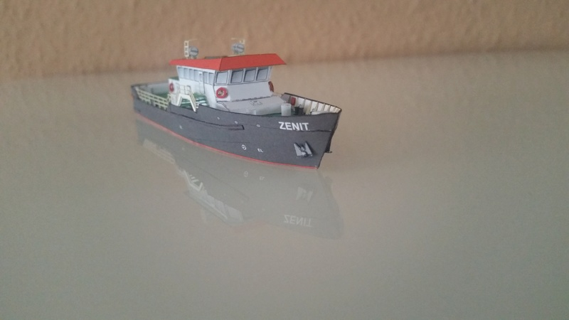 Peilschiff Zenit  HMV  1:250 gebaut von Paperfreak 20180114
