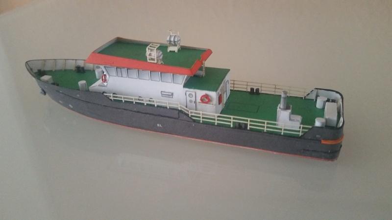 Peilschiff Zenit  HMV  1:250 gebaut von Paperfreak 20180115